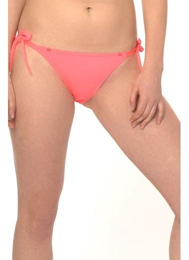 Reflections Mix Match Yandan Bağlamalı Düz Bikini Alt Kırmızı